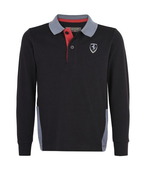 Children's polo shirt in cotton pique