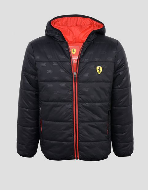 Boys' padded nylon jacket