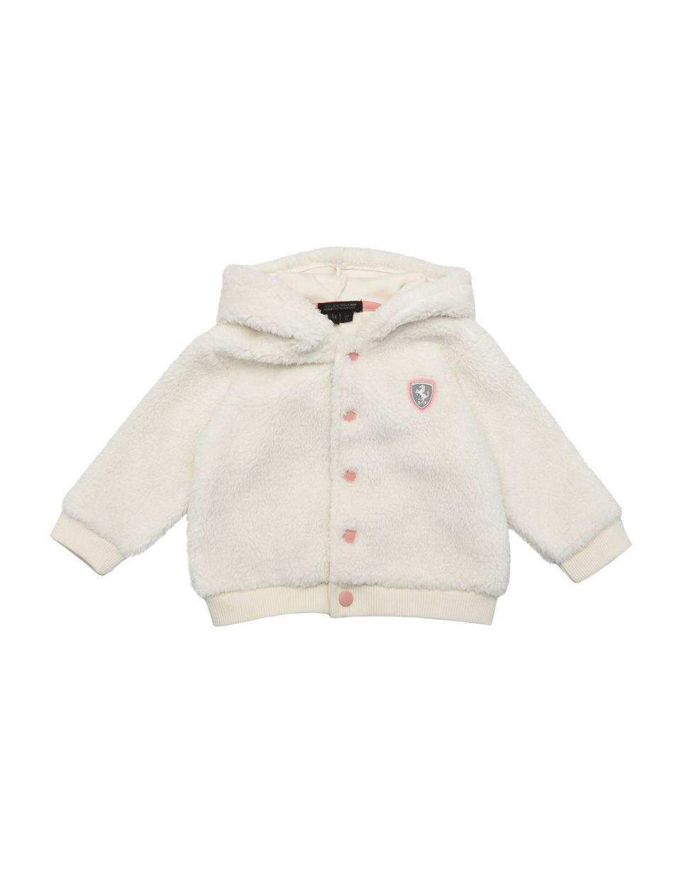 Scuderia Ferrari Online Store - Infants' sweatshirt with hood and snap buttons - Hooded Sweaters