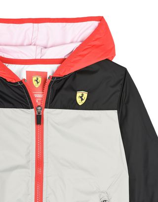 Scuderia Ferrari Online Store - Children's water resistant nylon jacket - Raincoats