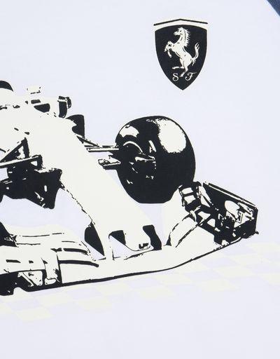Scuderia Ferrari Online Store - Children's glow-in-the-dark T-shirt -
