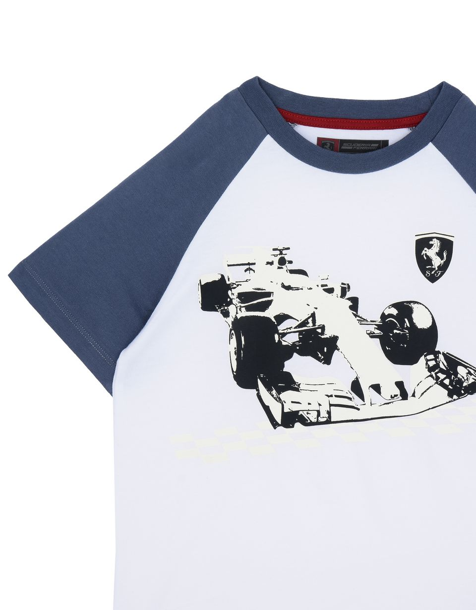 Scuderia Ferrari Online Store - Children's glow-in-the-dark T-shirt -