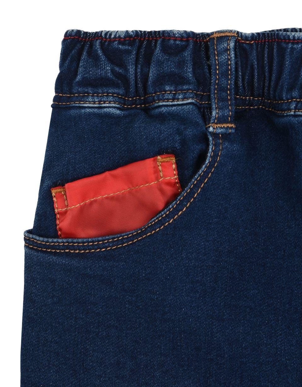 Scuderia Ferrari Online Store - Children's trousers in denim-effect fleece -
