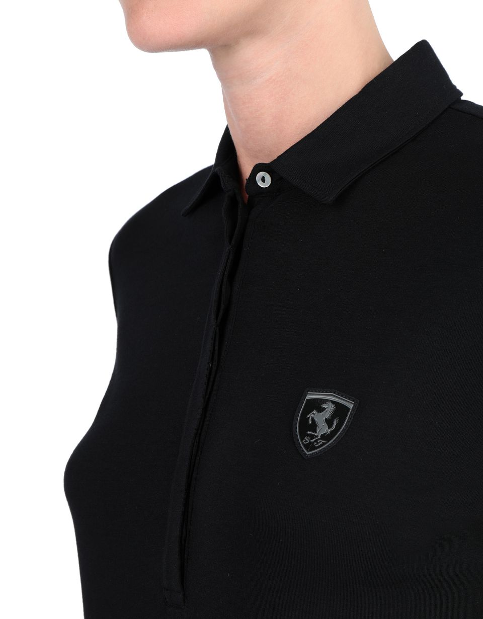 Scuderia Ferrari Online Store - Long-sleeve women's polo shirt -