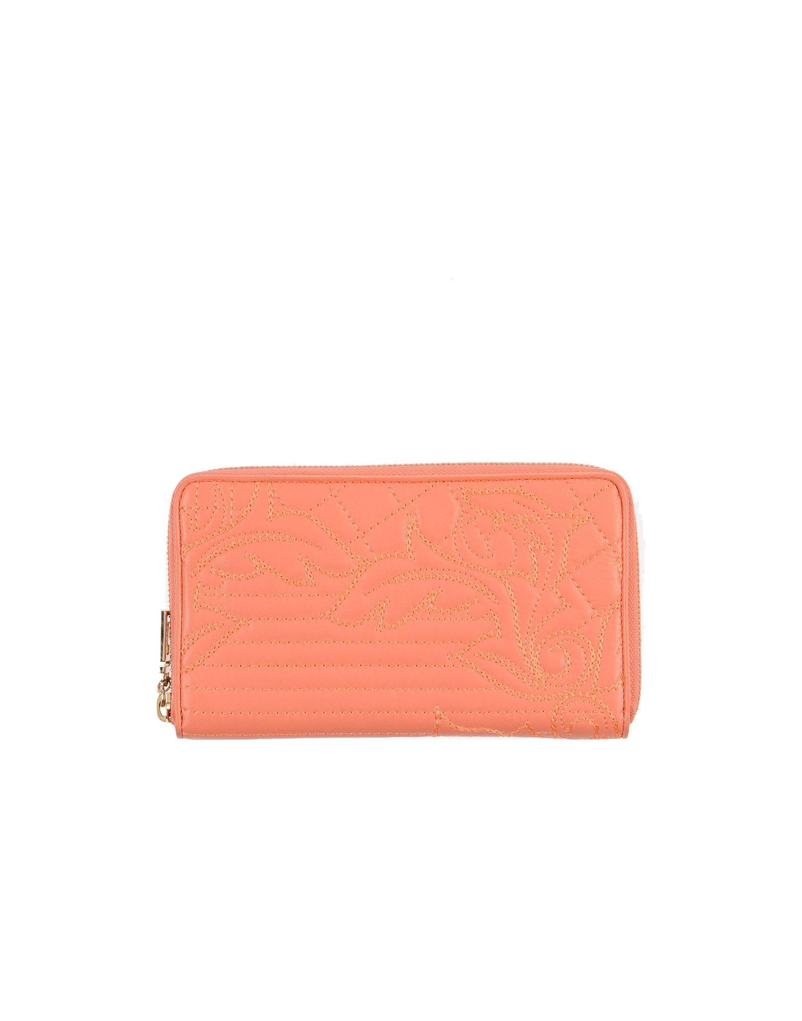 GIANNI VERSACE Wallet in Salmon Pink