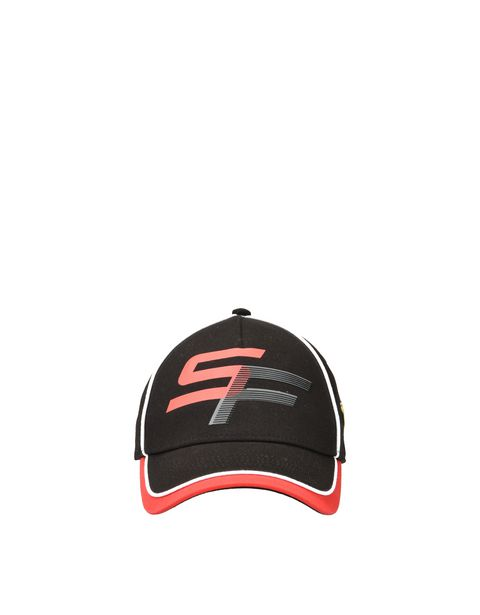 Children's cap with SF initials