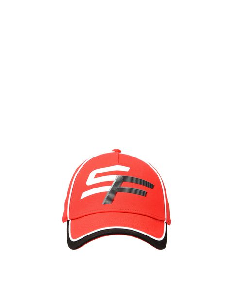 "Children's cap with ""SF"" initials"