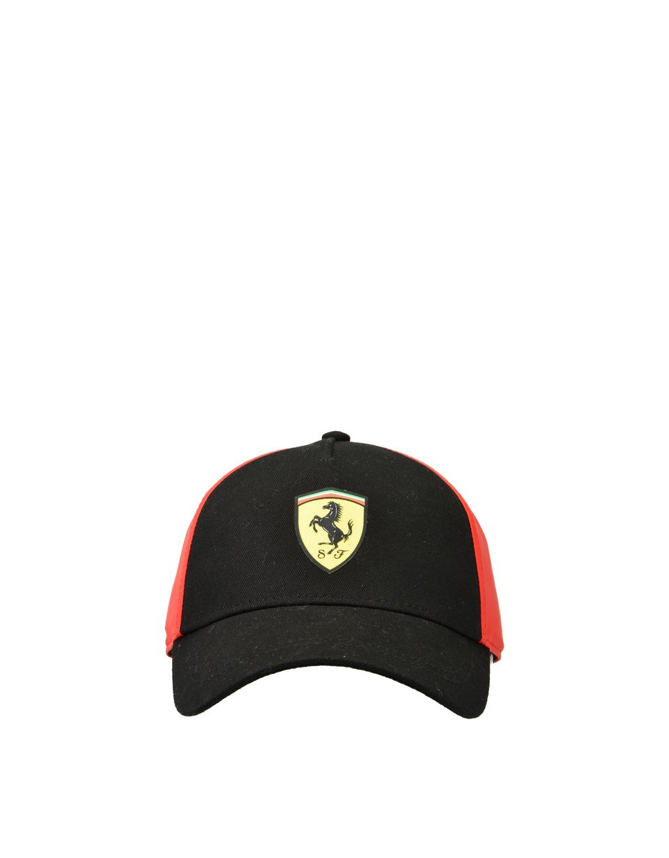 Scuderia Ferrari Online Store - Kids' cotton and technical fabric hat -