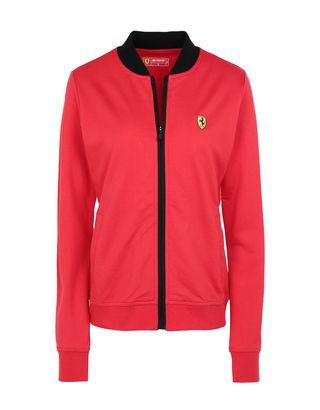 Scuderia Ferrari Online Store - Felpa donna full zip con tasche - Maglioni con Zip