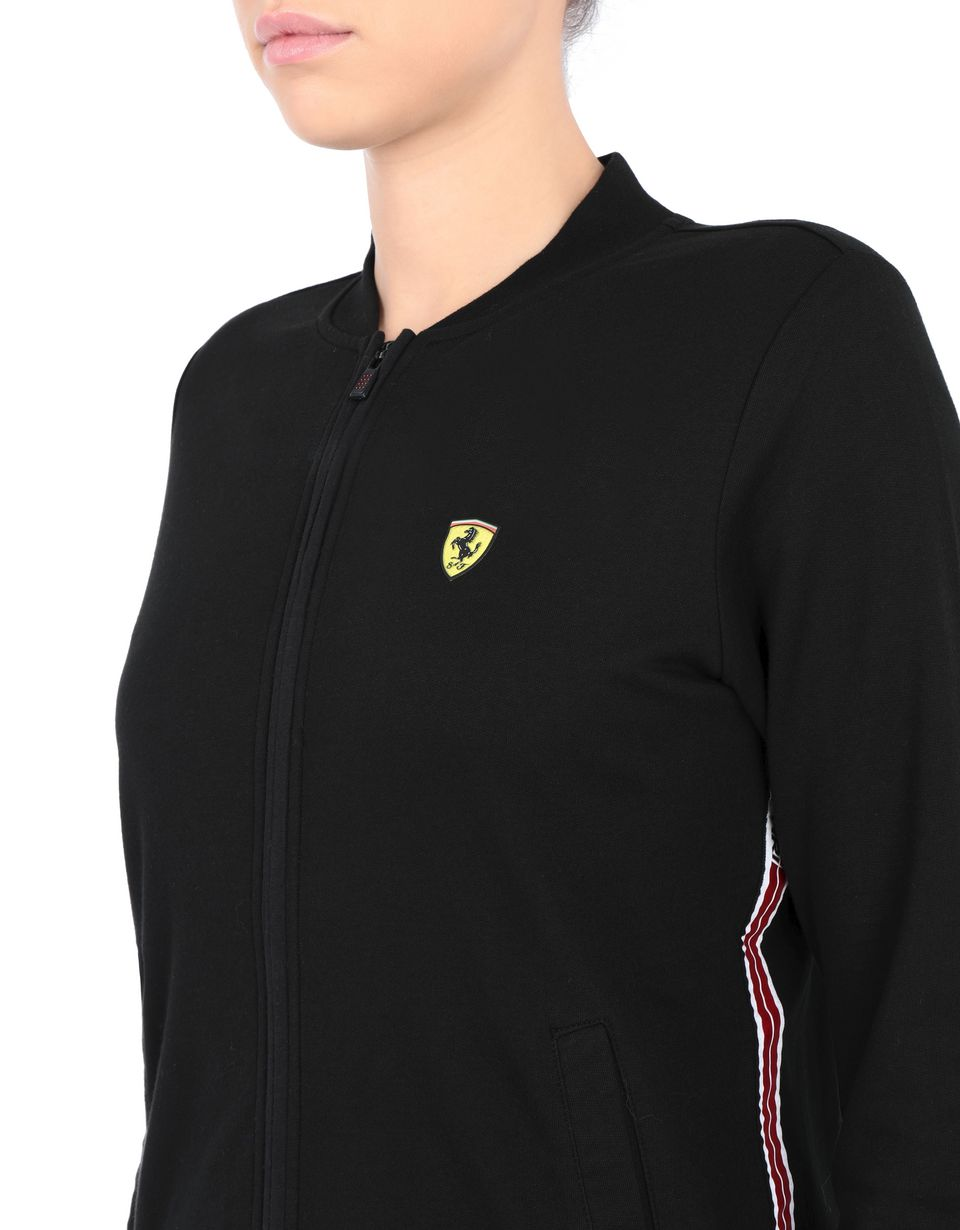 Scuderia Ferrari Online Store - Women's full-zip sweatshirt with pockets - Zip Sweaters