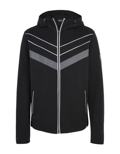 Scuderia Ferrari Online Store - Men's sweater with hood and rubber inserts -