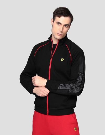 Men's zippered sweatshirt
