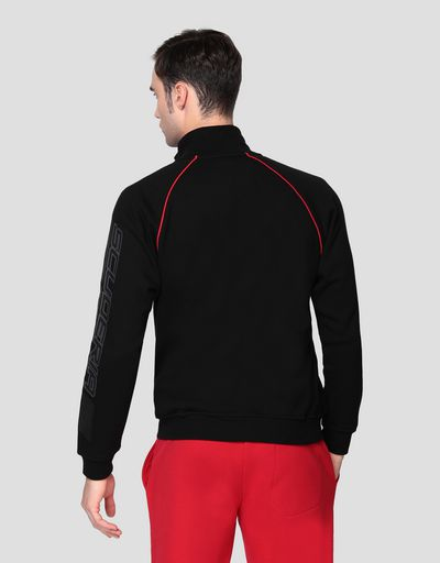 Men's sweatshirt with zip