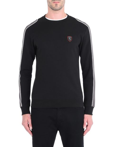 Men's jumper with contrasting inserts