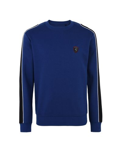 Scuderia Ferrari Online Store - Men's sweater with contrasting inserts -
