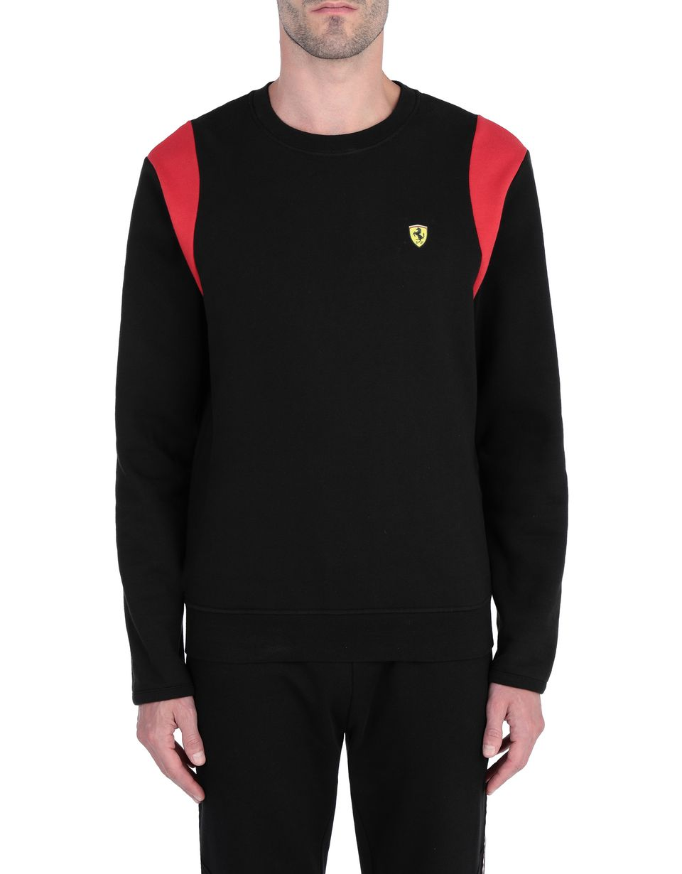 Scuderia Ferrari Online Store - Men's crew neck sweater -