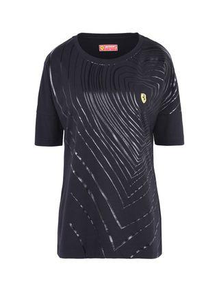 Scuderia Ferrari Online Store - 女士涂层印纹 T 恤 - Short Sleeve T 恤