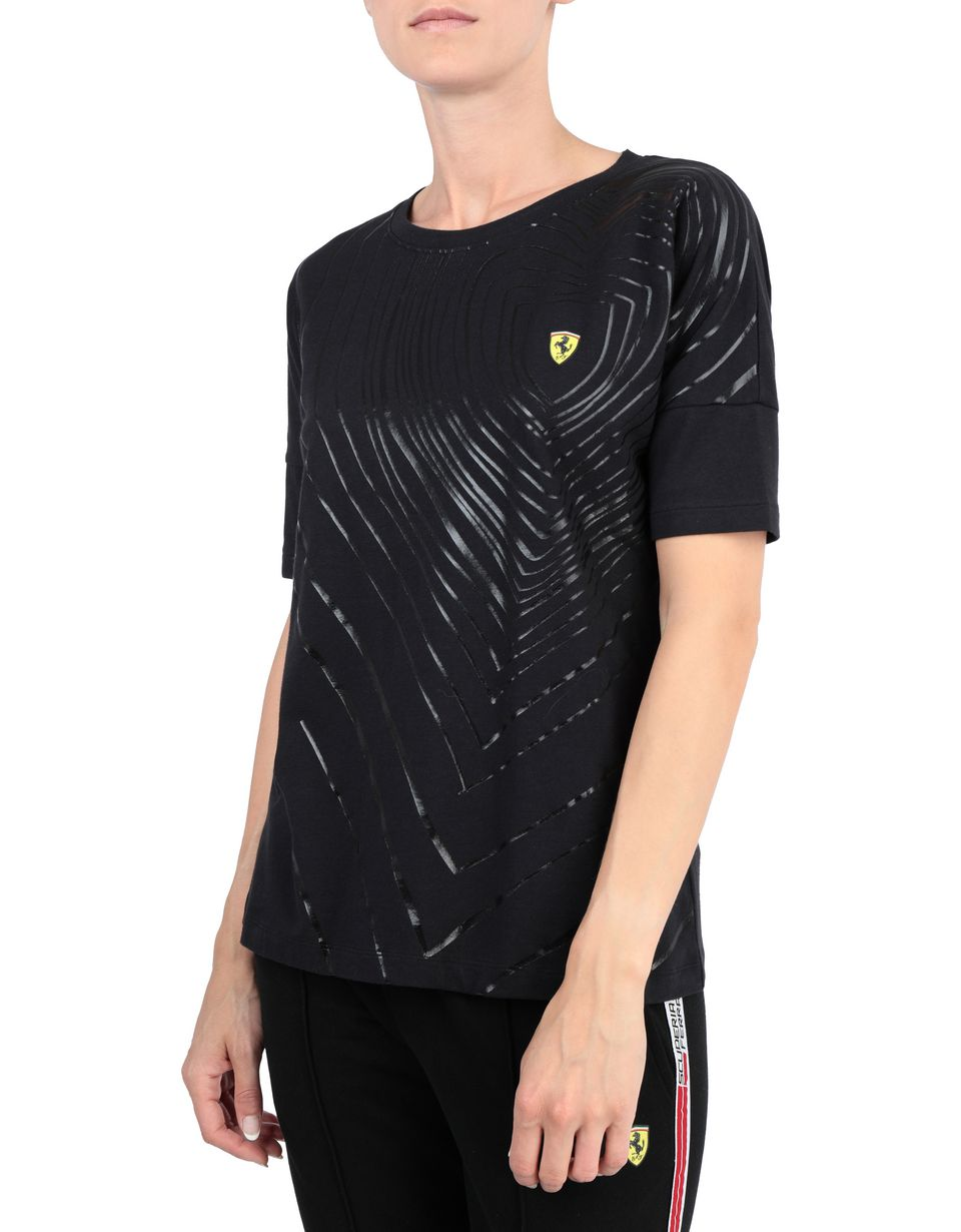 Scuderia Ferrari Online Store - Women's T-shirt with rubberized print -
