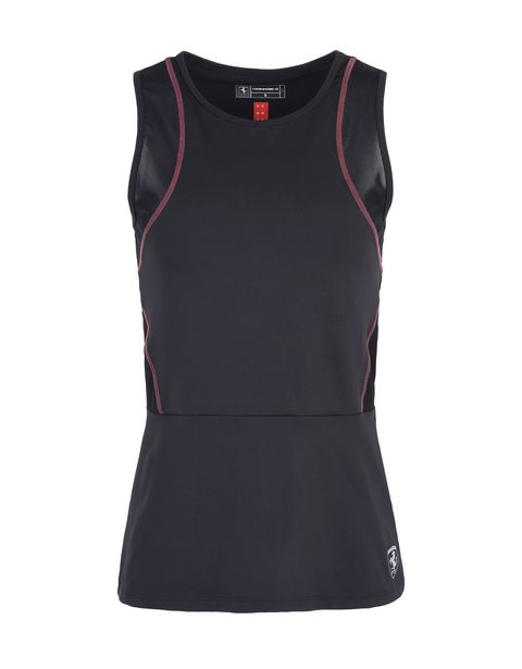 Scuderia Ferrari Online Store - Women's top in technical fabric - Tank Tops