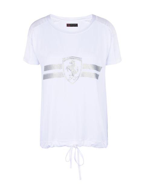 Scuderia Ferrari Online Store - Women's T-shirt with sequins -
