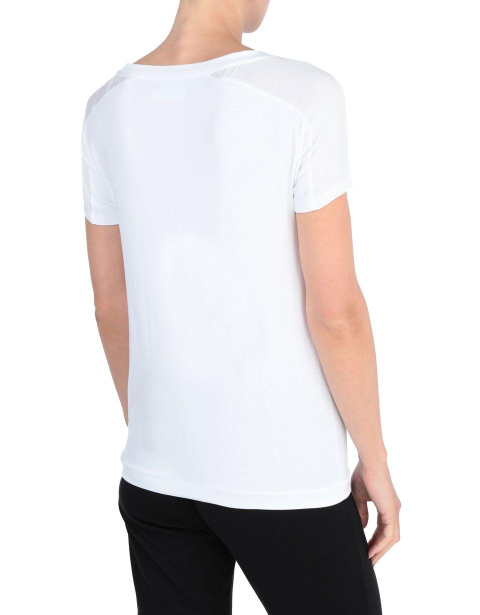 Scuderia Ferrari Online Store - T-shirt donna con paillettes - T-shirt manica corta