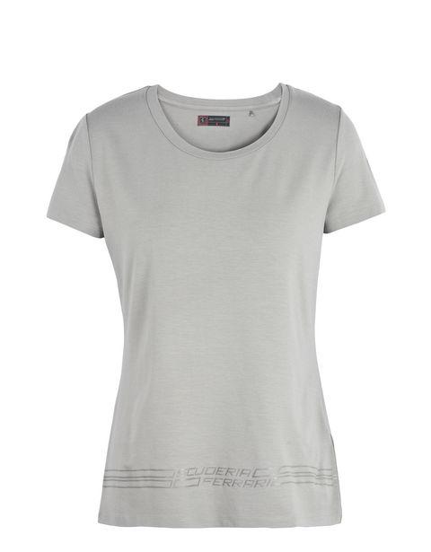 Scuderia Ferrari Online Store - Women's T-shirt with Scuderia Ferrari print -