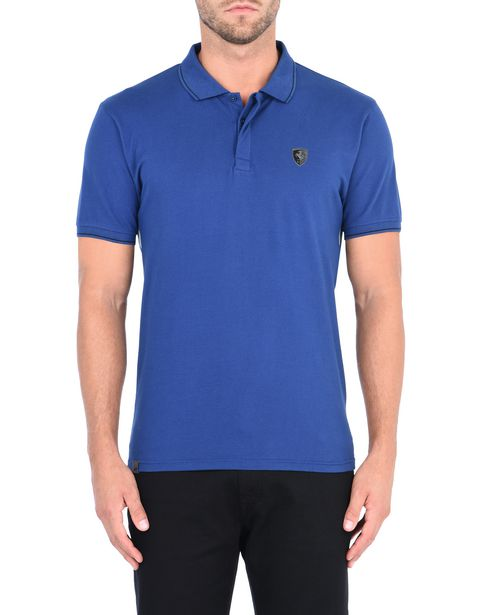 Men's polo shirt in cotton piquet