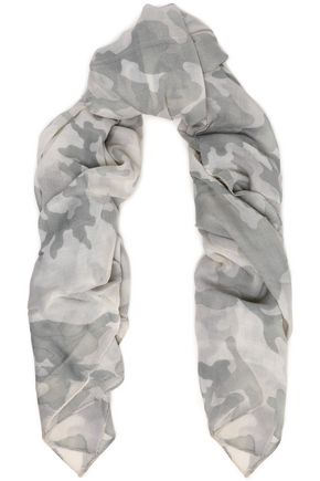 RAG & BONE Printed wool scarf