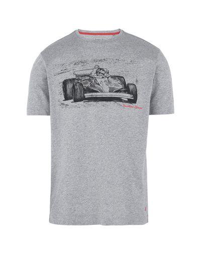 Scuderia Ferrari Online Store - Men's short-sleeve T-shirt with print - Short Sleeve T-Shirts