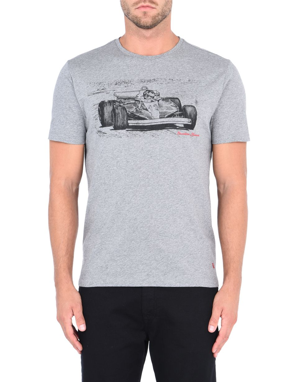 Scuderia Ferrari Online Store - Men's short-sleeved printed T-shirt - Short Sleeve T-Shirts