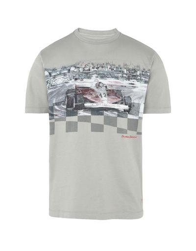 Scuderia Ferrari Online Store - Men's short-sleeved printed T-shirt -