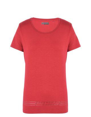 Scuderia Ferrari Online Store - 女士法拉利车队印纹 T 恤 -