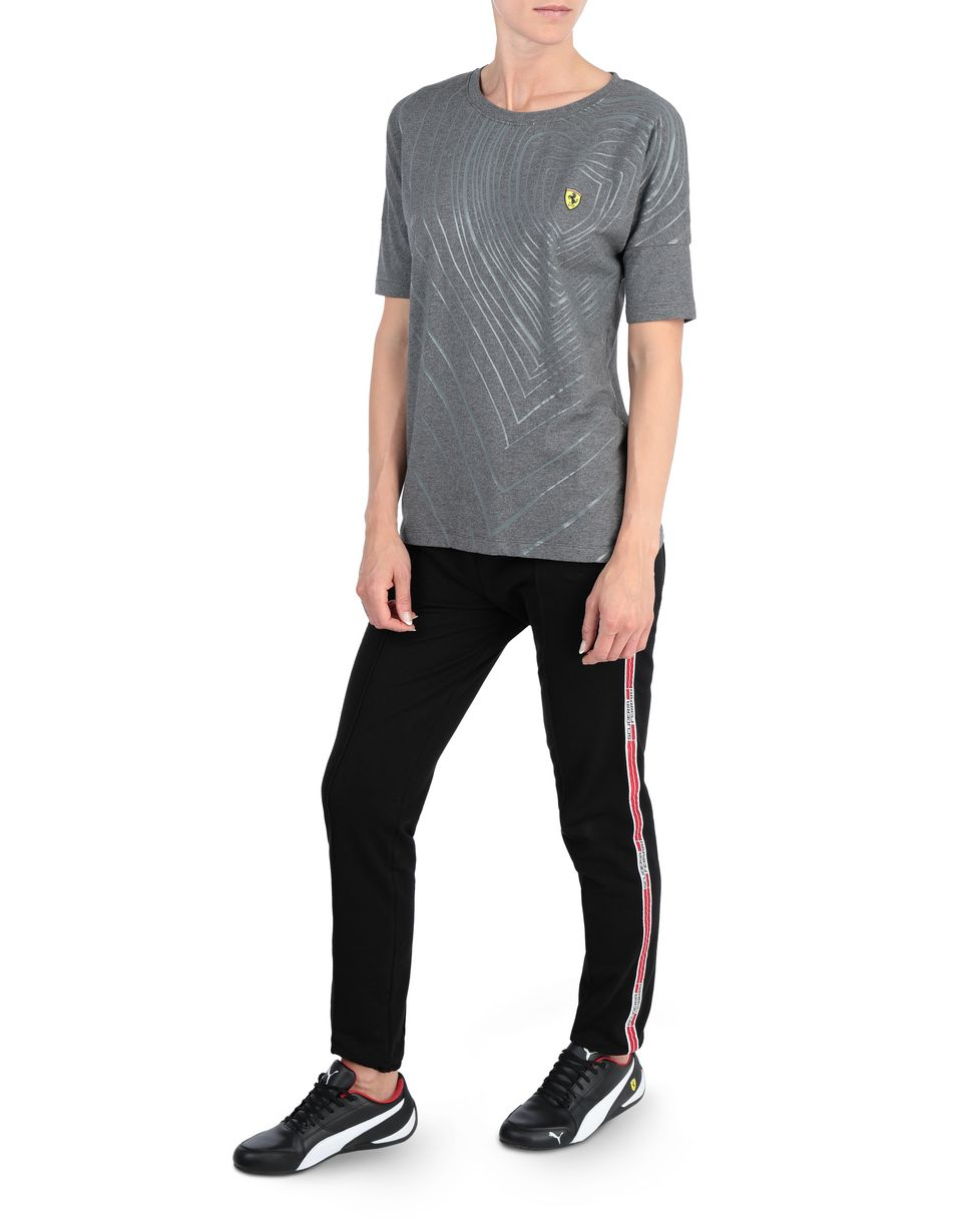 Scuderia Ferrari Online Store - Women's T-shirt with rubberized print - Short Sleeve T-Shirts