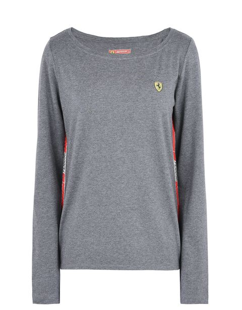 Scuderia Ferrari Online Store - Infant hooded sweatshirt with press studs - Long Sleeve T-Shirts