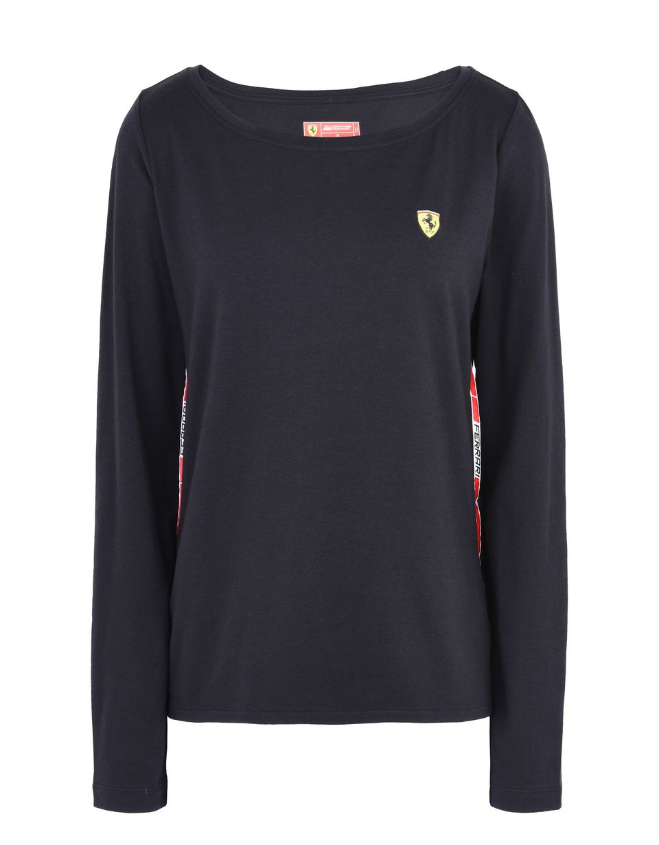 Scuderia Ferrari Online Store - Infant all-in-one in cotton - Long Sleeve T-Shirts