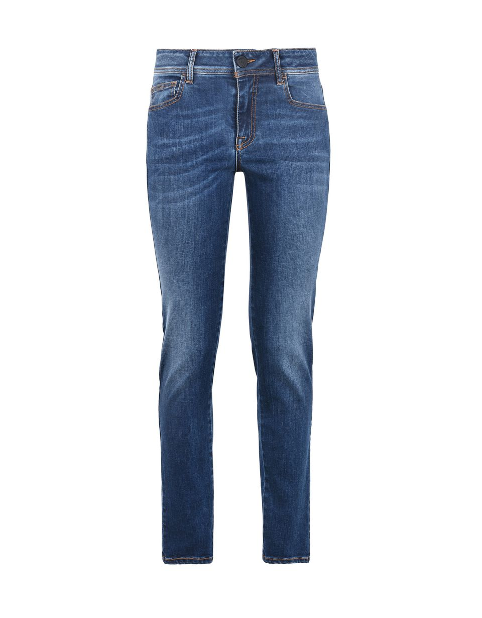 Scuderia Ferrari Online Store - Women's slim-fit jeans - 5-pocket trousers