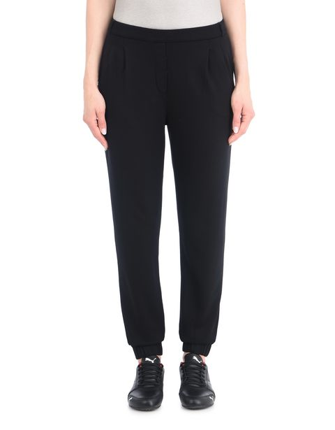 Women's lightweight pleated trousers
