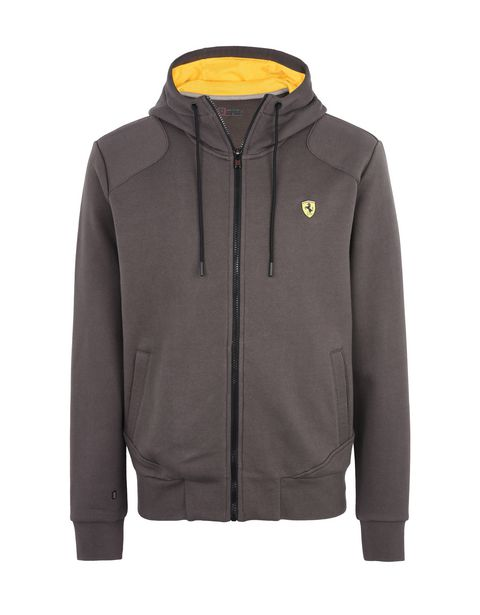 Scuderia Ferrari Online Store - Men's sweatshirt with hood - Zip Hood Sweaters