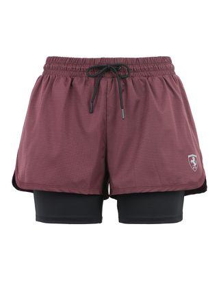 Scuderia Ferrari Online Store - Women's double shorts - Shorts