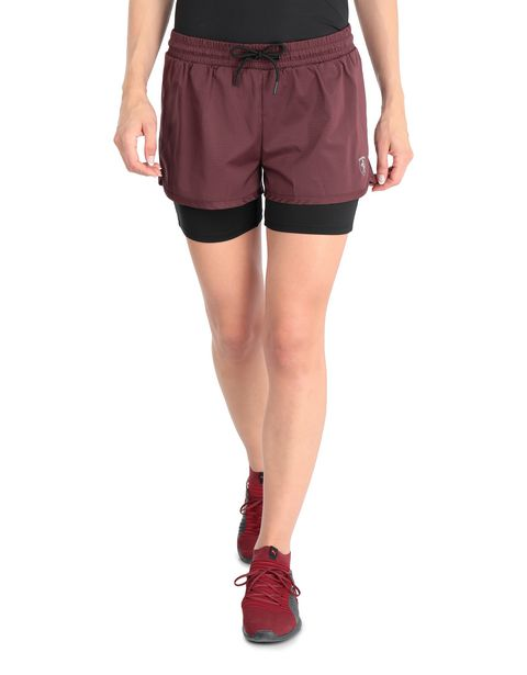 Doppelte Damen-Shorts