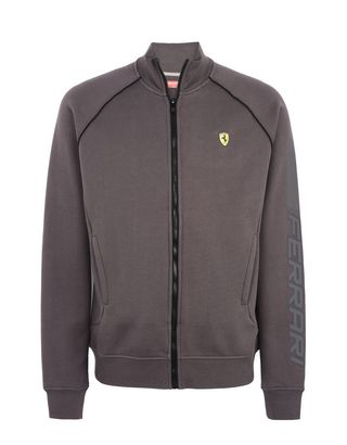 Scuderia Ferrari Online Store - Men's zippered sweatshirt - Zip Sweaters