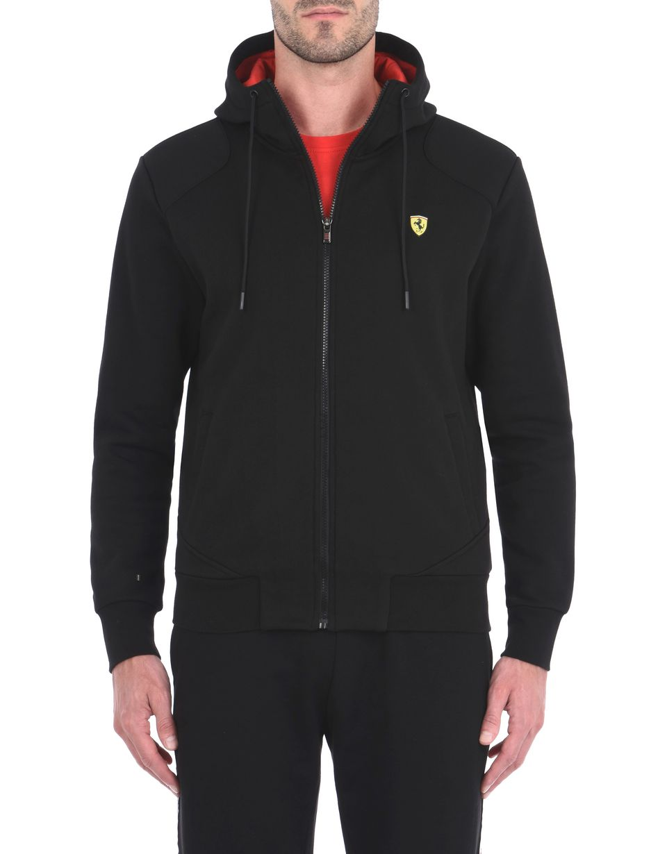Scuderia Ferrari Online Store - Men's hooded sweatshirt - Zip Hood Sweaters