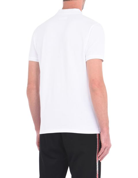 Men's polo shirt in cotton pique