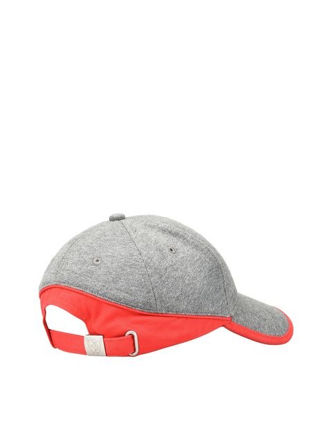 Scuderia Ferrari Online Store - Men's jersey hat with red stripe - Baseball Caps