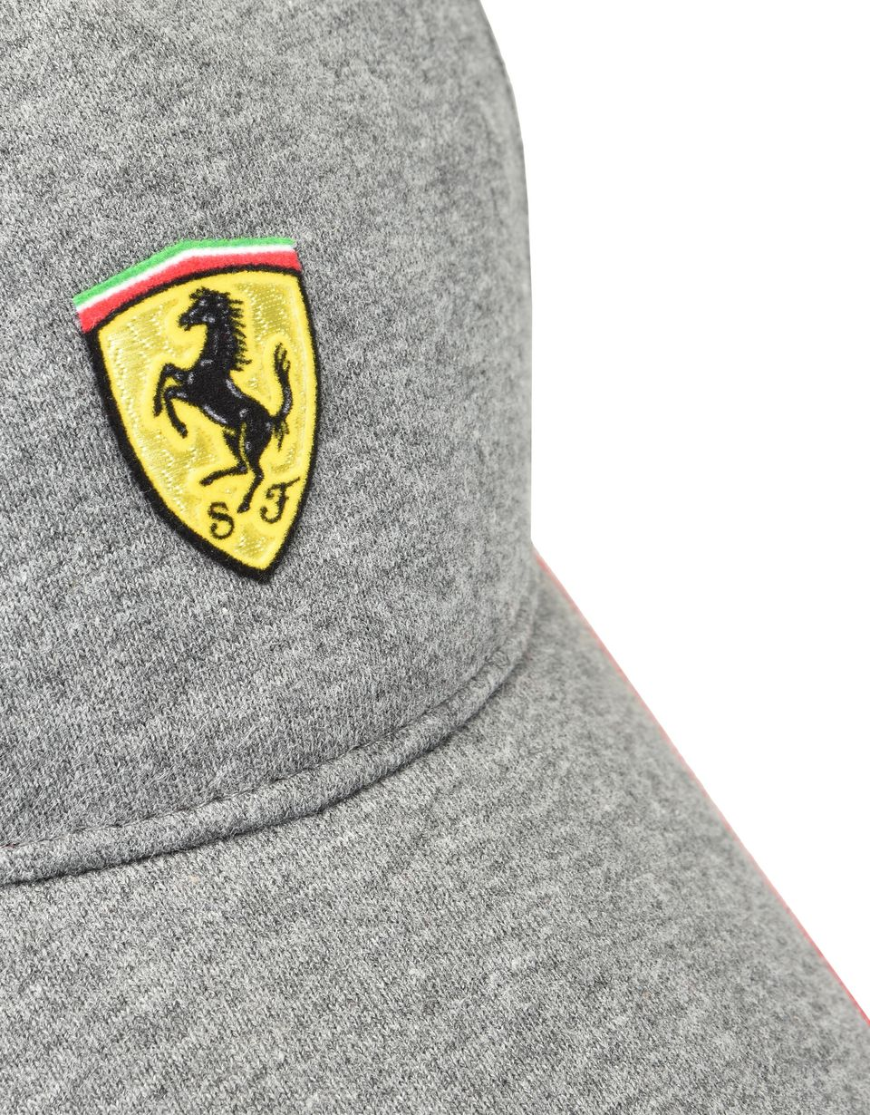 Scuderia Ferrari Online Store - Men's jersey hat with red stripe -