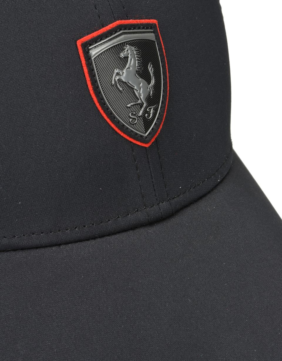 Scuderia Ferrari Online Store - Men's technical fabric cap with embellished visor - Baseball Caps