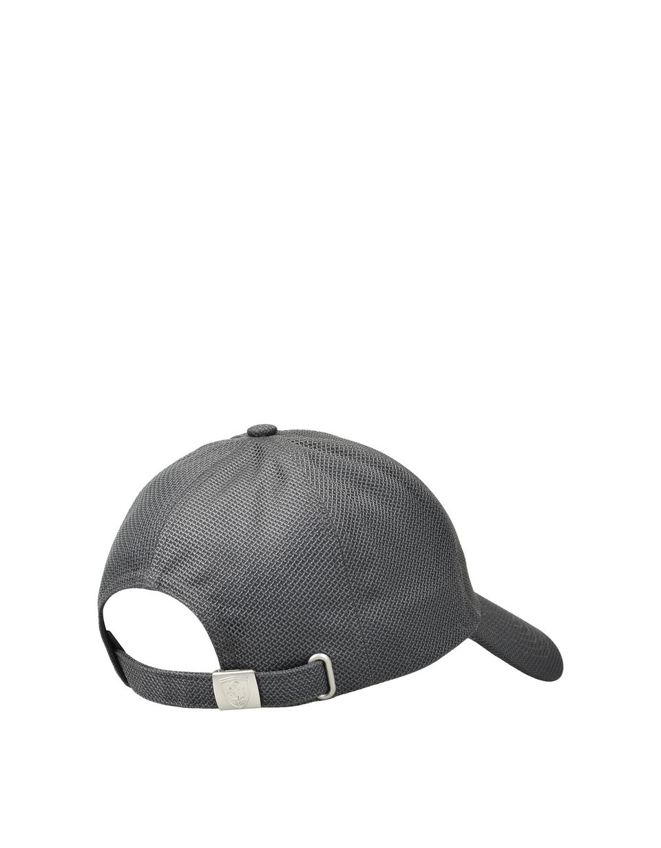 Scuderia Ferrari Online Store - Men's cotton and mesh cap -