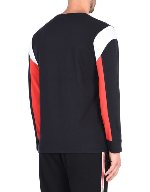 Men's long-sleeved jersey sweater