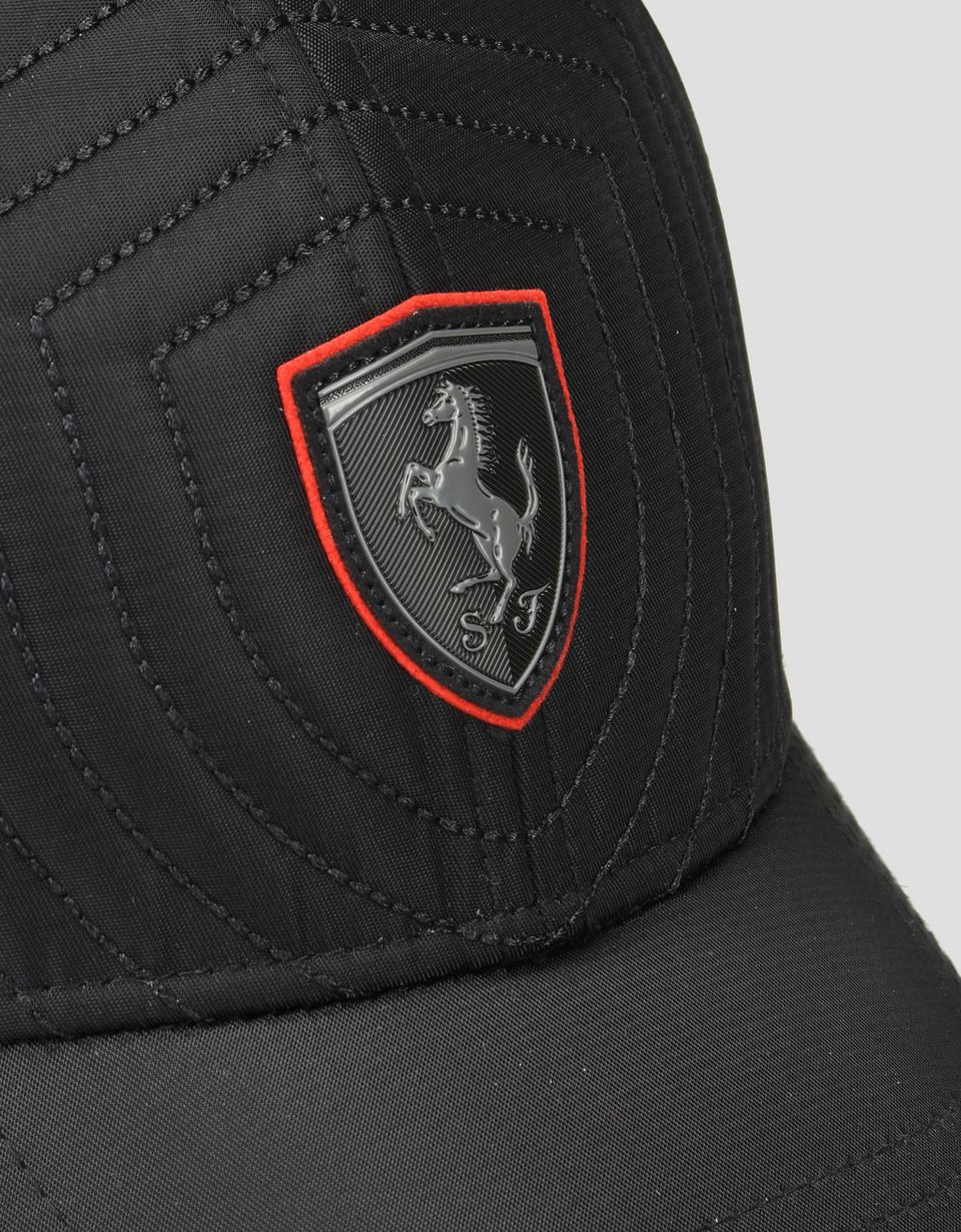Scuderia Ferrari Online Store - Men's cap with a red trim -
