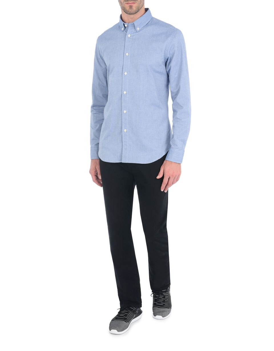 Scuderia Ferrari Online Store - Button-down men's shirt -